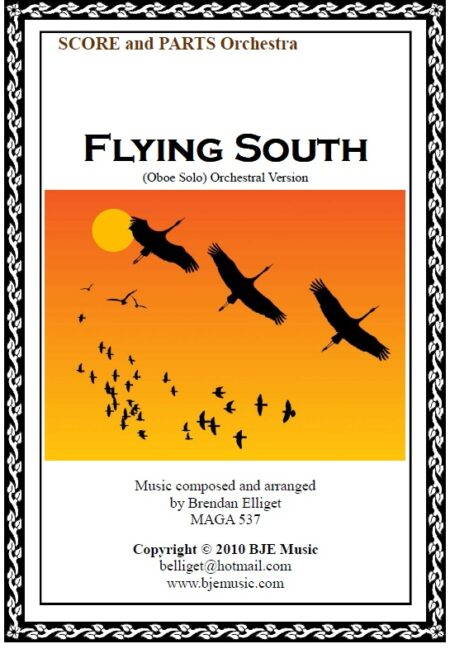 071 FC Flying South Oboe Solo with Orchestra