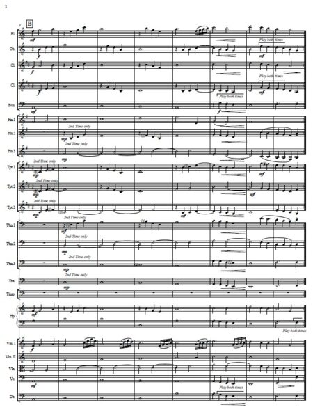 108 Rest Heaven sent Small Orchestra SAMPLE page 02