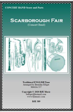 Scarborough Fair – Concert Band