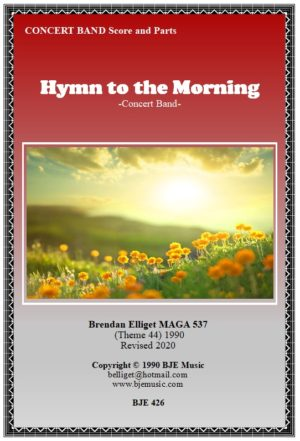Hymn to the Morning – Concert Band