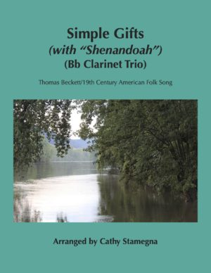 "Simple Gifts (with ""Shenandoah"") (Bb Clarinet Trio-Three Bb Clarinets)"