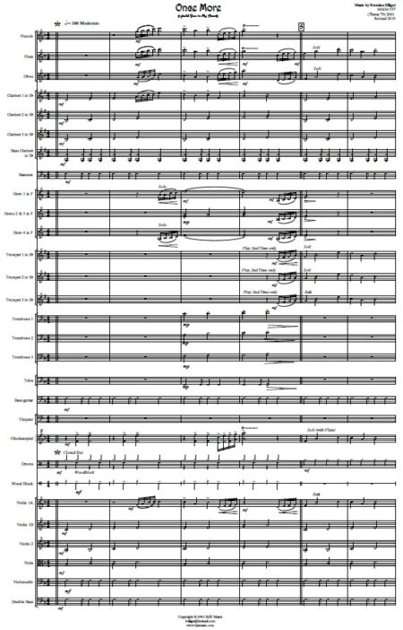 353 Once More Orchestra SAMPLE page 01