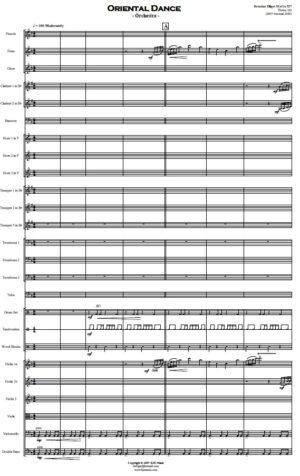 Oriental Dance – Orchestra