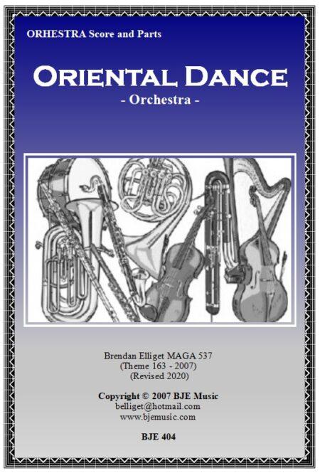 404 FC Oriental Dance Theme 163 Orchestra