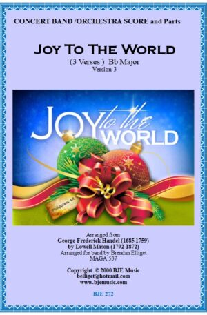 Joy to the World – Concert Band/Orchestra
