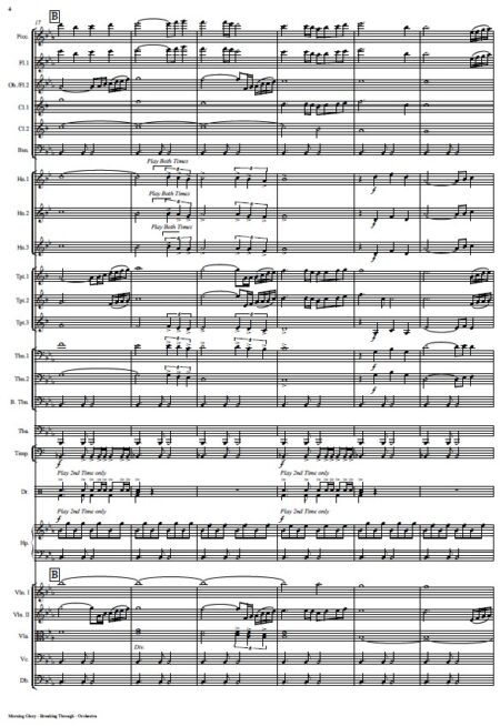 360 Morning Glory Breaking Through Orchestra SAMPLE page 04