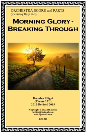 Morning Glory – Breaking Through – Orchestra