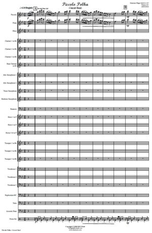 Piccolo Polka – Concert Band