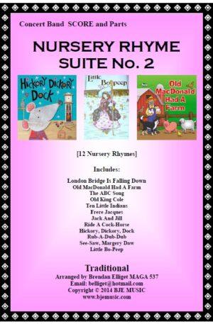 Nursery Rhyme Suite No. 2 – Concert Band