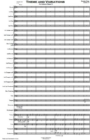 Theme and Variations for Orchestra
