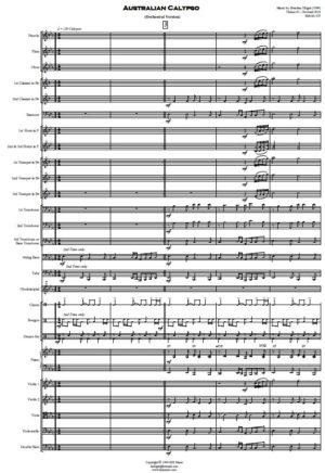 Australian Calypso – Orchestra