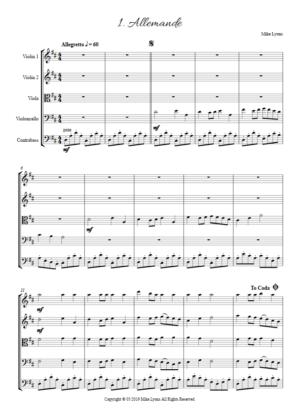 String Quintet – Courtly Dances