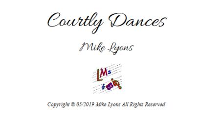 Wind Quintet - Courtly Dances
