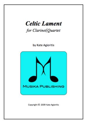 Celtic Lament – Clarinet Quartet