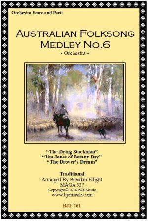 Australian Folksong Medley No. 6 – Orchestra