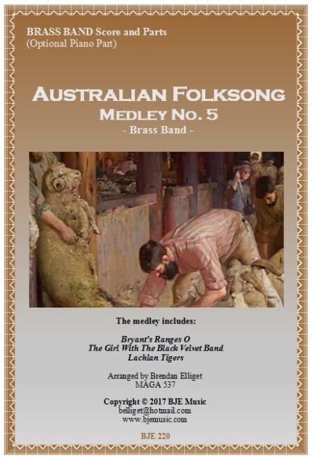 220 FC Australian Folksong Medley No 5 Brass Band