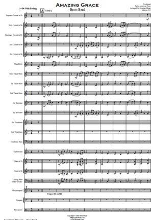 Amazing Grace – Brass Band