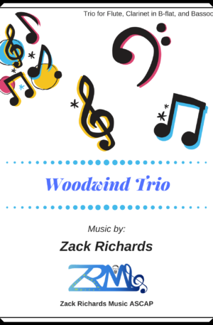 Woodwind Trio for Flute, Clarinet, and Bassoon