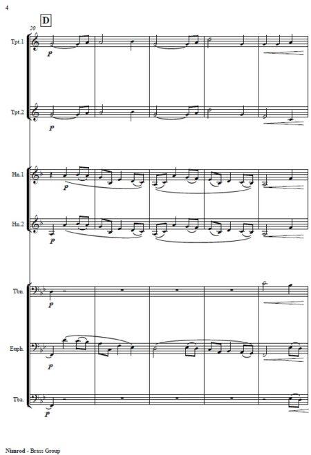 418 Nimrod Brass Group Septet SAMPLE page 04