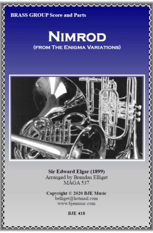 Nimrod (from The Enigma Variations) – Brass Group (Septet)