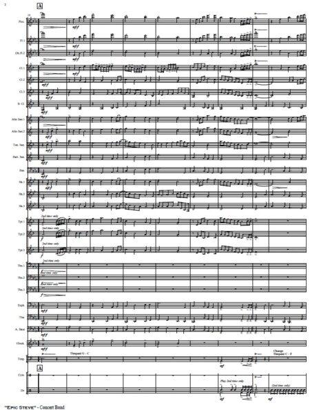 412 Epic Steve Concert Band SAMPLE page 02
