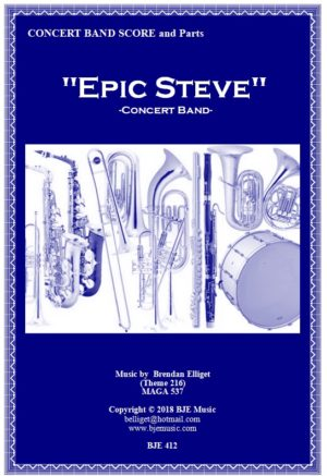 """""""Epic Steve"""" – Concert Band"""