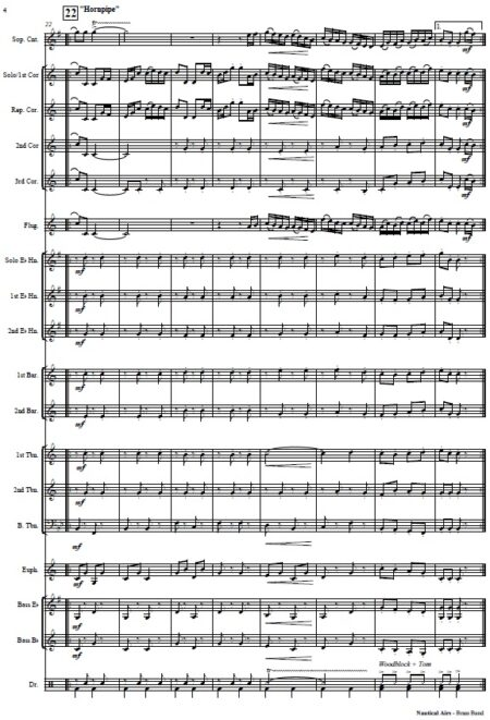 354 Nautical Airs Brass Band SAMPLE page 04