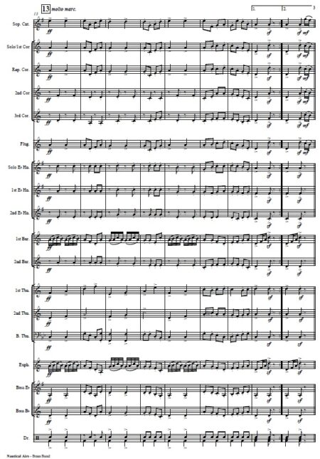 354 Nautical Airs Brass Band SAMPLE page 03