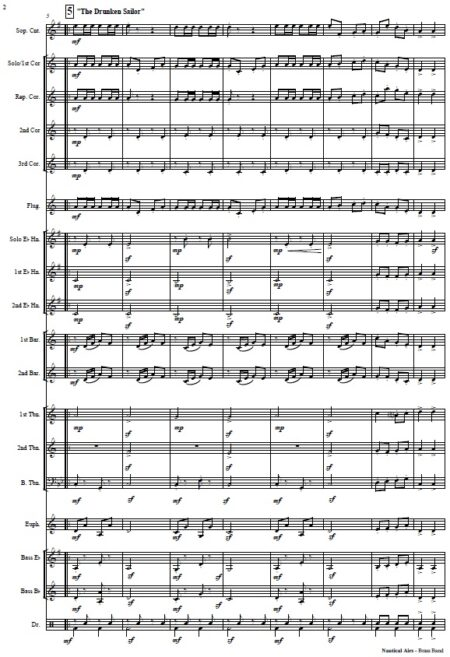 354 Nautical Airs Brass Band SAMPLE page 02