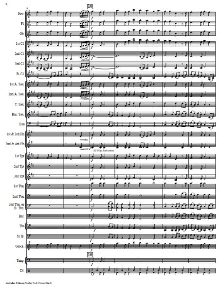 027 Aust Folksong Med No 2 SAMPLE page 02