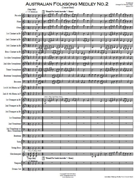027 Aust Folksong Med No 2 SAMPLE page 01