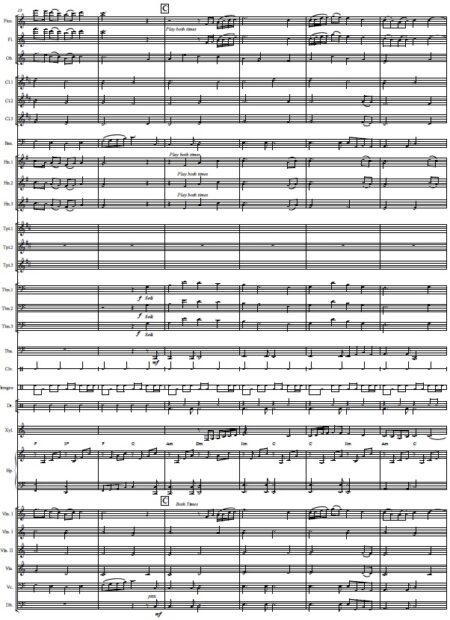 437 Before The Day Ends Concert Band SCORE page 03