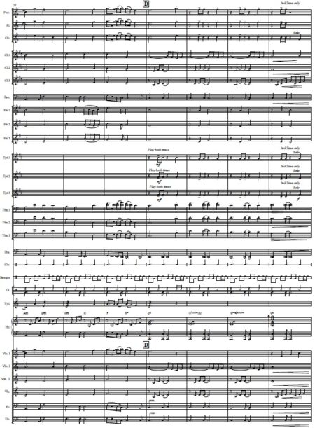 437 Before The Day Ends Concert Band SCORE page 04