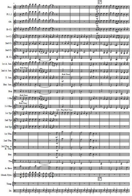 033 Australian Folksong Medley No 4 Page 02