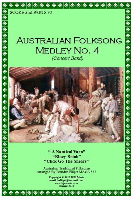 033b FC Australian Folksong Medley No 4 CB