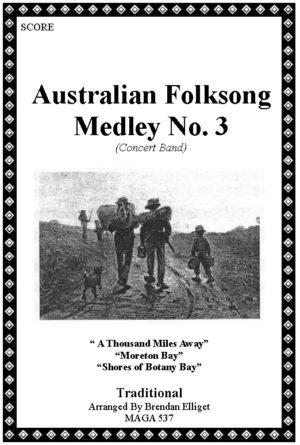 Australian Folksong Medley No. 3 – Concert Band