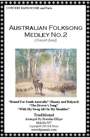 Australian Folksong Medley No. 2 – Concert Band