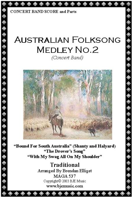 027 FC Aust Folksong Medley No 2 Concert Band