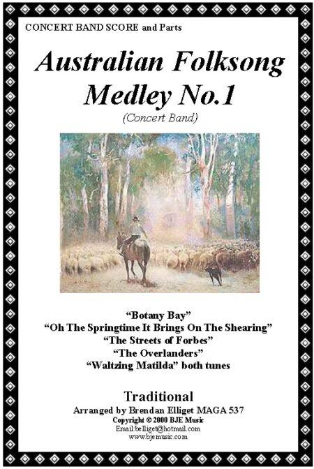 026 FC Aust Folksong Medley No 1 Concert Band