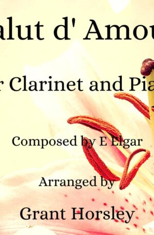 """""""Salut d' Amour""""- E Elgar- Clarinet and Piano"""