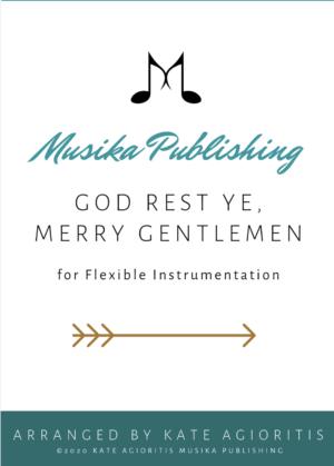 God Rest Ye, Merry Gentlemen – Flexible Instrumentation