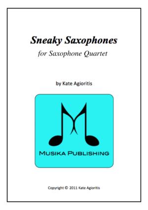 Sneaky Saxes – Young Saxophone Quartet