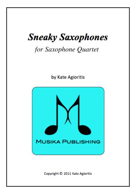 Sneaky Saxophone Quartet