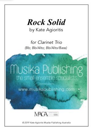 Rock Solid – for Clarinet Trio