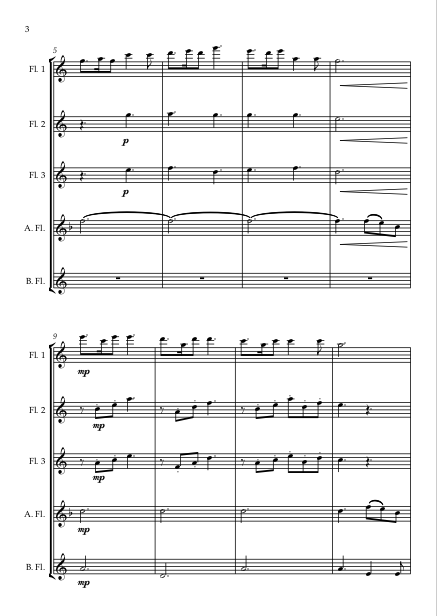 Skye Boat Song Flute Choir