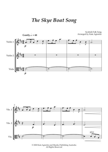 The Skye Boat Song String Trio