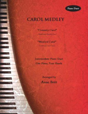 Carol Medley – intermediate piano duet