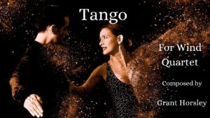"""Tango"" For Wind Quartet"