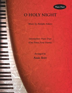O Holy Night – intermediate piano duet