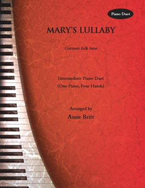 Mary's Lullaby – intermediate piano duet